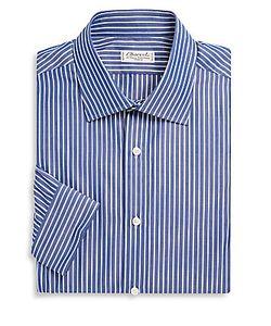 Charvet | Striped Cotton Dress Shirt