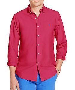 Ralph Lauren Purple Label | Slim Garment-Dyed Cotton Shirt