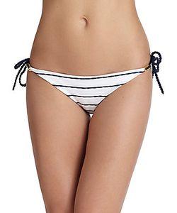 Heidi Klein | Striped Rope Side-Tie Bikini Bottom