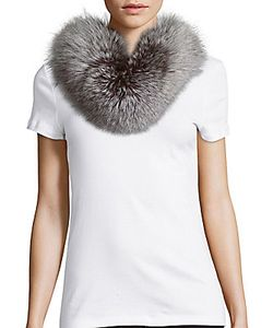 Yves Salomon   Clasp-Closure Fur Scarf