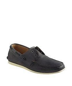 John Varvatos   Schooner Leather Boat Shoes