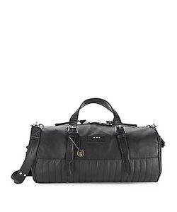 John Varvatos | Leather-Blend Duffel Bag