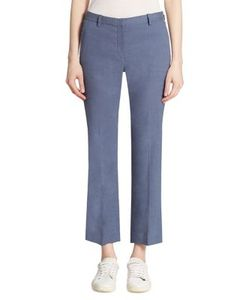 Theory | Hartsdale Cropped Straight-Leg Pants