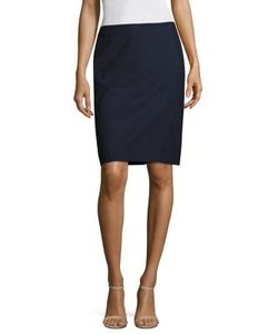 Piazza Sempione | Wool Pencil Skirt
