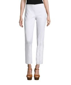 Michael Kors Collection | Cotton Cropped Pants