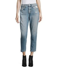 Amo | Ace High-Rise Slouchy Skinny Ankle Jeans