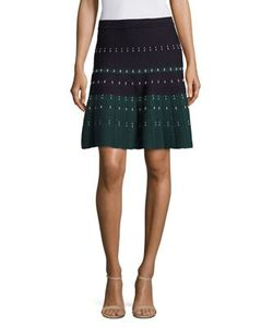 Yigal Azrouel | Cord Stitched A-Line Skirt