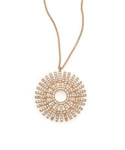Astley Clarke | Rising Sun Diamond 14k Pendant Necklace
