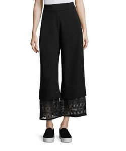 Public School | Liz Crepe Wide Legs Pants