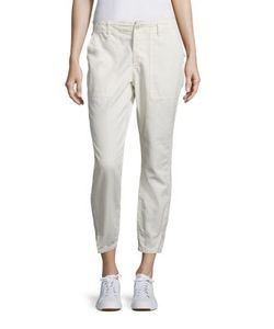 Amo | Army Twist Utility Cropped Pants