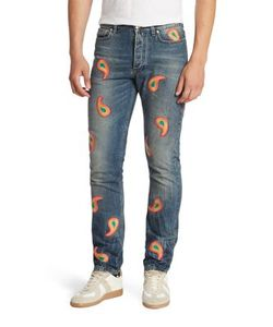 Paul Smith | Paisley Slim-Fit Jeans