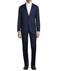 Corneliani   Striped Wool Suit