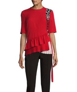 Yigal Azrouel | Silk Pleated Top