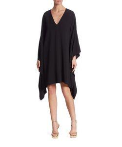 Ralph Lauren Collection | Gaelle V-Neck Dress
