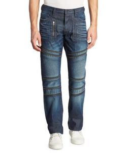 Prps | Baracuda Straight-Fit Moto Jeans