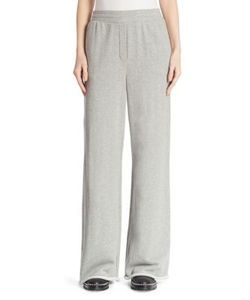 T by Alexander Wang | Wide-Leg French Terry Sweatpants