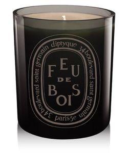 Diptyque | Grey Feu De Bois Candle/10.2 Oz.