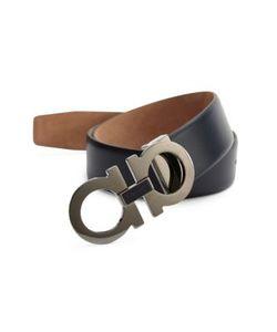 Salvatore Ferragamo | Adjustable Calfskin Belt