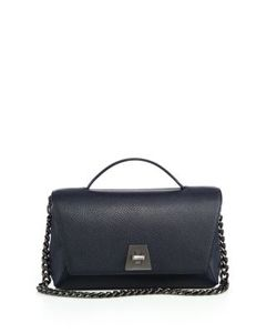 Akris | Anouk Little Leather Top-Handle Bag