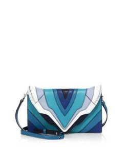 Elena Ghisellini | Selina Small Multicolor Leather Clutch