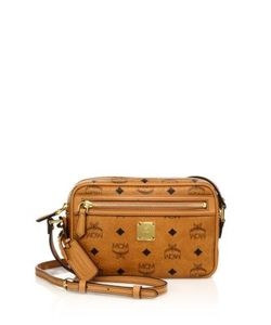 MCM | Heritage Coated Canvas Crossbody Bag