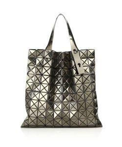Bao Bao Issey Miyake | Platinum Metallic Faux Leather Tote