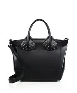 CHRISTIAN LOUBOUTIN | Eloise Large Studded Leather Tote