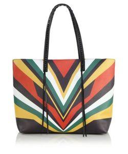 Elena Ghisellini | Miky Jamaica Tiger Medium Leather Shopper