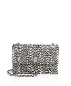 Salvatore Ferragamo | Vara Ginny Medium Snakeskin Shoulder Bag