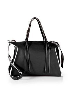 Elena Ghisellini | Gabria Medium Leather Satchel