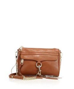 Rebecca Minkoff   Mac Mini Leather Chain Strap Crossbody