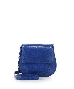 Nancy Gonzalez | Round Crocodile Crossbody Bag