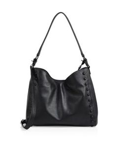 Loeffler Randall | Mini Studded Leather Hobo Bag