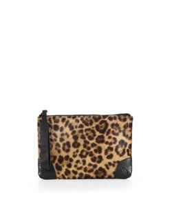 Rag & Bone | -Print Calf Hair Wristlet
