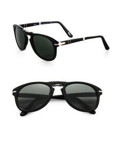 Persol | Folding Keyhole Plastic Sunglasses