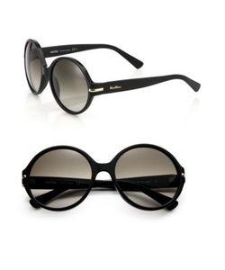 Max Mara | Detail 56mm Round Sunglasses