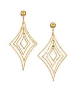 Vaubel | Geometric Drop Earrings