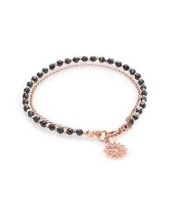 Astley Clarke | Biography Hematite White Sapphire Sun Beaded Friendship Bracelet