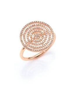 Astley Clarke   Icon Aura Grey Diamond 14k Ring