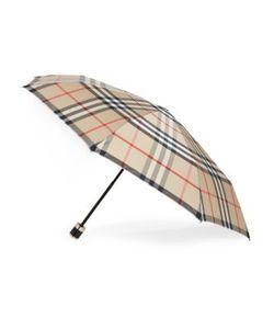 Burberry | Packable Signature Plaid Umbrella