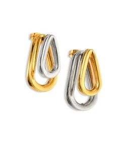 Annelise Michelson | Ellipse Two-Sided Earrings