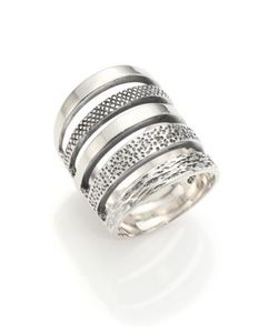 Pamela Love | Single Cage Sterling Ring