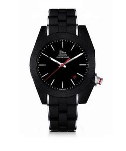 Dior Homme | Chiffre Rouge Galvanized Rubber Watch