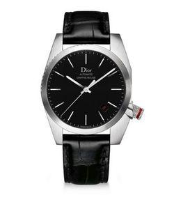 Dior Homme | Chiffre Rouge Alligator Strap Timepiece