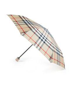 Burberry | Trafalgar Checked Packable Umbrella