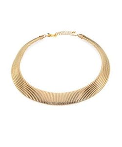 Kenneth Jay Lane | Graduated Snake-Ribbed Collar Necklace