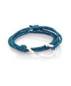 Miansai | Hook Rope Wrap Bracelet/Silvertone