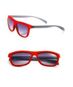 Italia Independent   Velvet Square Sunglasses