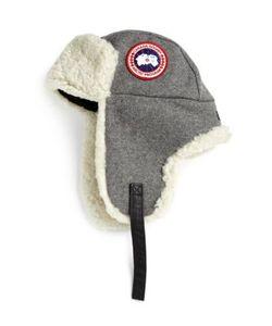 Canada Goose | Merino Wool Shearling Pilot Hat