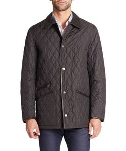 Salvatore Ferragamo | Quilted Barn Coat